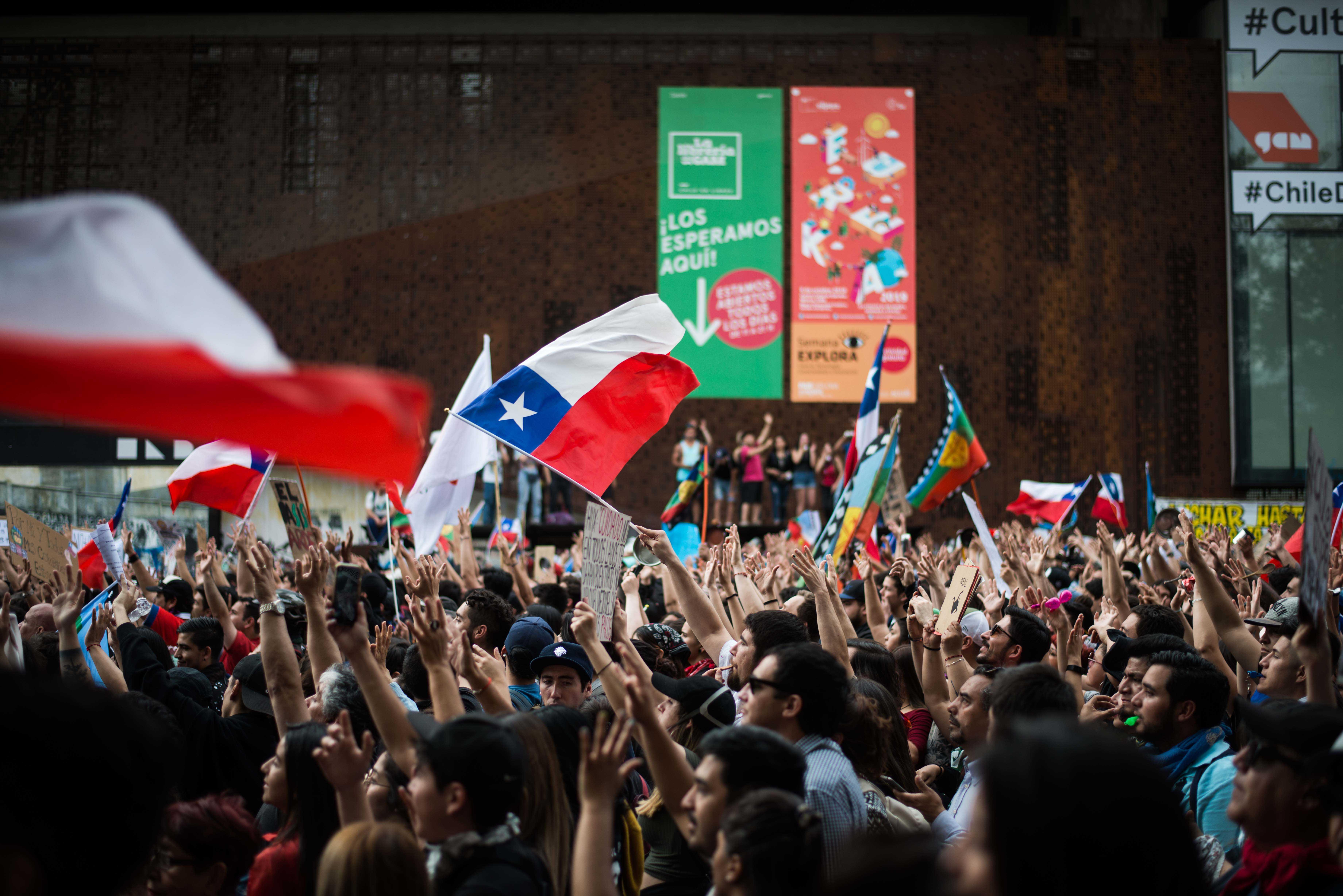 100 Fotos De La Marcha Mas Grande De Chile Migrar Photo 07